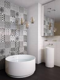 trend alert patterned tiles are definitely in ross s home centre