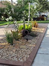 with gravel front garden design