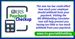 paycheck taxes calculator 2015 irs encourages workers to get a paycheck checkup hrwatchdog