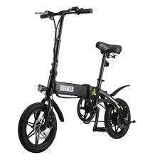 <b>DOHIKER Folding</b> E-bike Collapsible Moped <b>Electric Bicycle</b> With ...