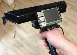 portable kinect scanner project