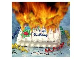 birthday cake with many candles. Wonderful Candles Your At The Age Of Too Many Candles On Your Birthday Cake Click To Send  This Card Inside Cake With Many Candles T
