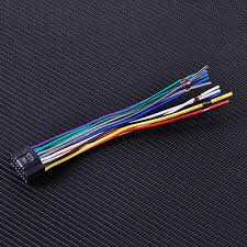 wire harness install plug cable adapter for kenwood car stereo kenwood car radio stereo wire harness install plug cable cord 16 pin connector