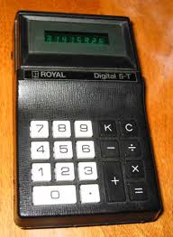 royal digital t four function calculator