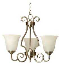 craftmade 7120bnk3 cecilia 3 light 20 inch brushed satin nickel chandelier ceiling light in brushed nickel alabaster glass