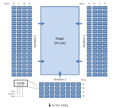 Raleigh Amphitheater Seating Chart Seating Charts Raleigh Little Theatre