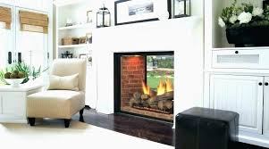 double sided electric fireplace insert rustic 3 sided fireplace drasticdsemulatorfo