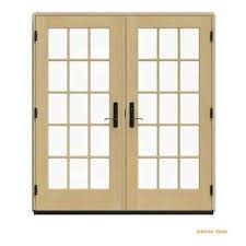 french doors patio. Beautiful Patio 72 In X 80 W4500 Desert Sand Clad Wood Left For French Doors Patio