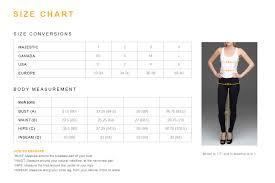 Majestic Paris Size Chart Viscose Elasthane Soft Touch Flat Edge V Neck