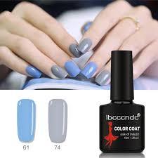 uv gel nail polish hot women nail art manicure pigment varnish coat soak off gel polish led uv polishes gelous nail gel nail supplies from appleeye