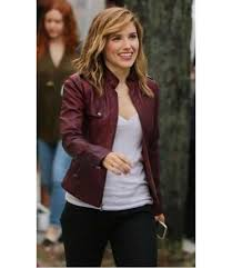sophia bush chicago pd jacket