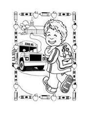 bed439faa097cef6b7375f4205908e86 school coloring pages printable coloring pages colouring book pictures back to school google search clip art on first day of kindergarten worksheets