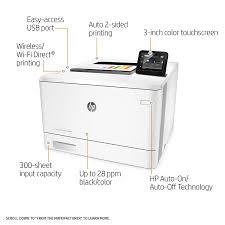 Amazon Com Hp Laserjet Pro M452dw Wireless Color Printer Cf394a