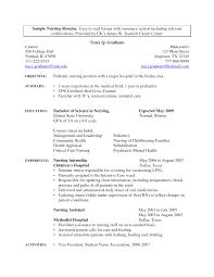 New Grad Resume Template Classy Nurse Resume Template New Graduate Nurse Resume Examples New Grad