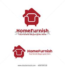 Home Furniture Logo Sofa Roof Stock Vector 409799719 Shutterstock