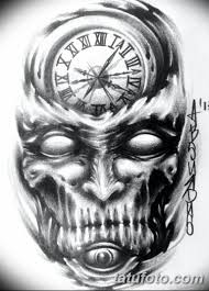 черно белый эскиз тату рукав на руку 11032019 020 Tattoo Sketch
