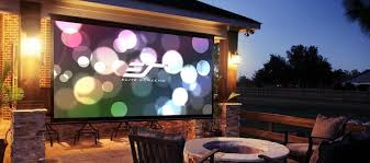 best outdoor projector and screen 2019
