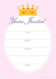 free birthday invitation template for kids printable invitation template best 25 free invitation templates
