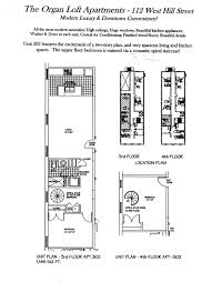 Floor Plans Organ Loft Apartments - Loft apartment floor plans
