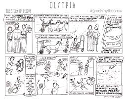 tour day olympia greek myth comix