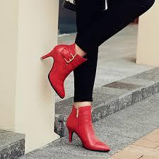 women s shoes nz leather kitten heel heels bootie pointed toe closed toe boots
