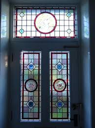 sensational idea stained glass door panels holme valley photo gallery photographs and images huddersfield panel iris inserts