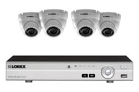 1080p hd home security system with 4 outdoor dome s