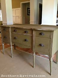 popular painted furniture colors. Southern Revivals | Painted Furniture: Updating A Vintage Buffet With Pop Of Color Popular Furniture Colors