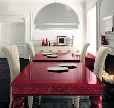 red dining table and chairs marcela com intended for room idea 2