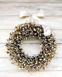 Winter Wedding Decor Winter Wedding Wreath Winter Wreaths Cream Berry Antique White
