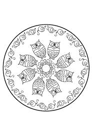 Small Picture 114 best Mandalas images on Pinterest Drawings Coloring books