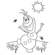 Small Picture Olaf Coloring Pages Ppinewsco