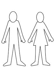 Kleurplaat Man En Vrouw Afb 21995 Images