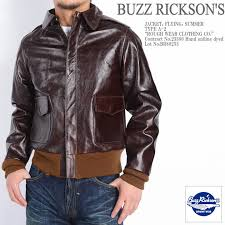 jeans first buzz rickson s バズリクソンズ a 2 leather flight jacket rough wear company br80253 rakuten global market