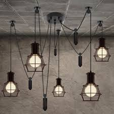 lighting industrial look. Imposing Ideas Industrial Look Lighting Beautify Your Home With Pendant Lights T