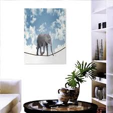 Amazonde Elefanten Aufkleber Wandbild Mit Elefanten