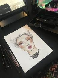 A Competition A Facechart A Recreation Beauty Masters 2018