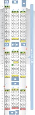 Delta Seating Chart By Flight Number Definitive Guide To Korean Air U S Routes Plane Types