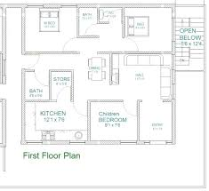 east facing house plan according to inspirational x floor plans best 30 40 2 story