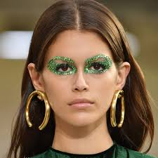 pat mcgrath cally used swarovski crystals as eyeliner