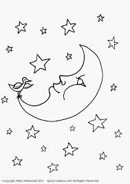 Kleurplaat In Het Engels Voorbeeld Kleurplaat Maan Vll Archidev