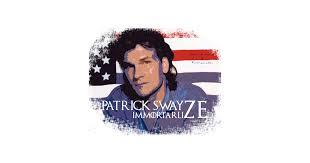 patrick swayze immortal t shirt