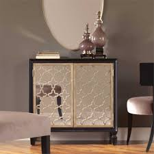 Living Room Console Cabinets Uttermost Franzea Mirrored Console Cabinet 2017 Living Room