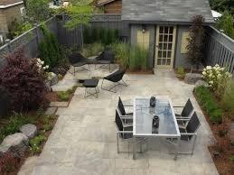 no grass backyard