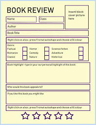 How To Write A Good Book Review Book Review Template For Kids Tips Activities Go