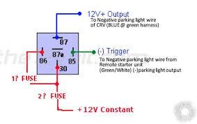 parking lights blink remote start posted image
