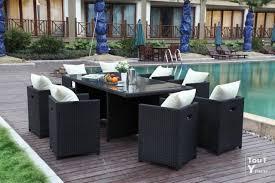 Ensemble table et chaise exterieur pas cher table de jardin en ...