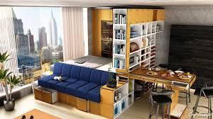 Apartment:Simple Apartment Bedroom Design With Big Mirror Ideas Studio  Apartment Bedroom Idea