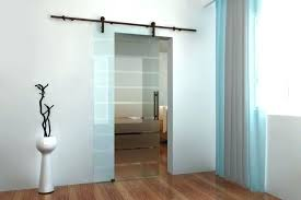 barn door with glass panels doors modern interior hardware for 4 panel style