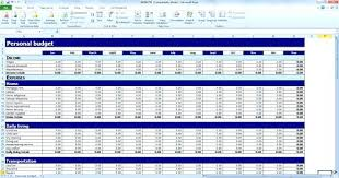 simple personal budget template excel simple personal budget template excel free personal budget template